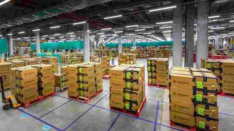 亚马逊印度建立了10个新仓库,以扩展存储容量