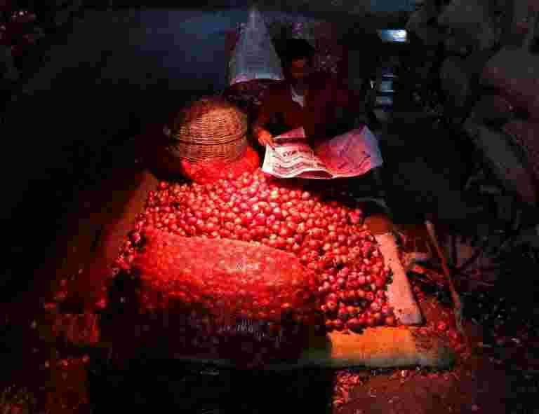 在Chennai,Sambar和Chutney感受到了飙升的洋葱价格