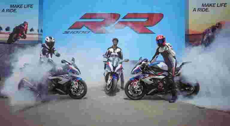 BMW Motorrad于18.50卢比的开始价格在印度推出S1000RR