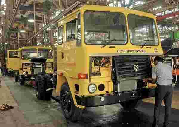 Ashok Leyland 1月份销售额下降40%同比