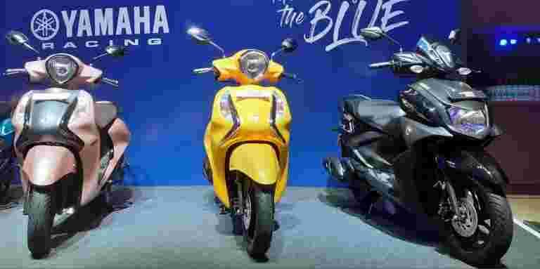雅马哈推出了印度的第一个125 CC踏板车