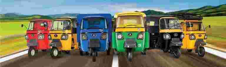 贷款人犹豫地融资三轮车购买:Atul Auto.