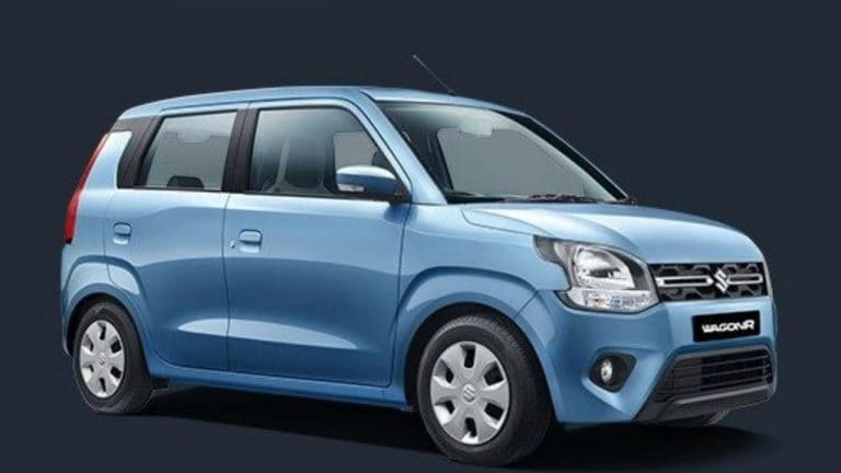 Maruti Wagonr CNG版交叉3 Lakh累积销售标记