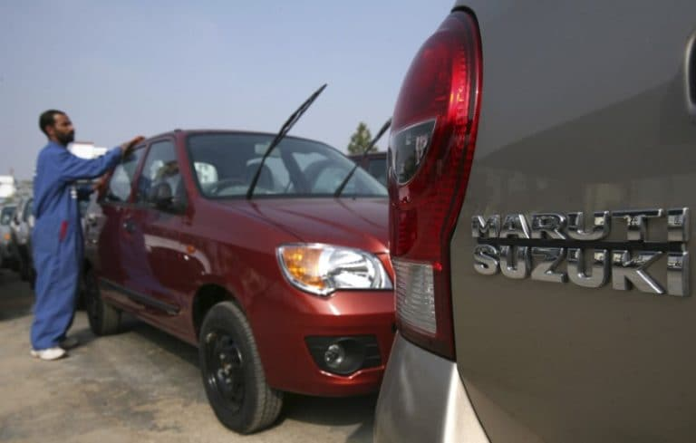 Maruti Suzuki 12月销售额增长20%至1.6万卢比