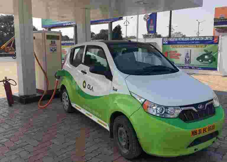 对印度EV市场的物质赌注,目标是1美元营业额(2025年)