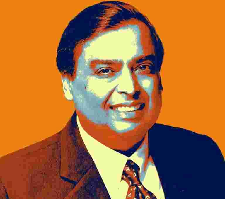 Reliance Industries现在净债务,宣布董事长Mukesh Ambani