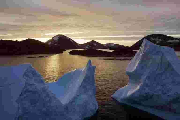 新的气候报告:海洋上升得更快,冰融化了更多