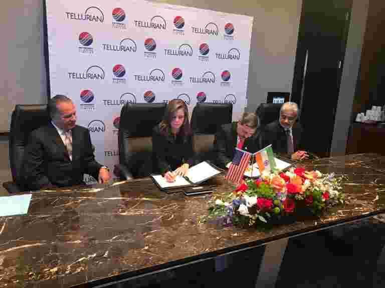 Petronet LNG表示,Tellurian交易将允许在生产价格购买