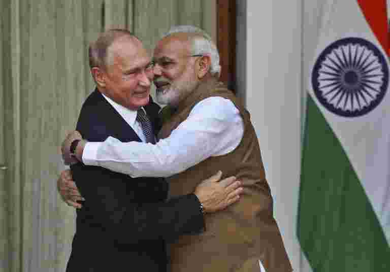 印度俄罗斯在核能方面的伙伴关系