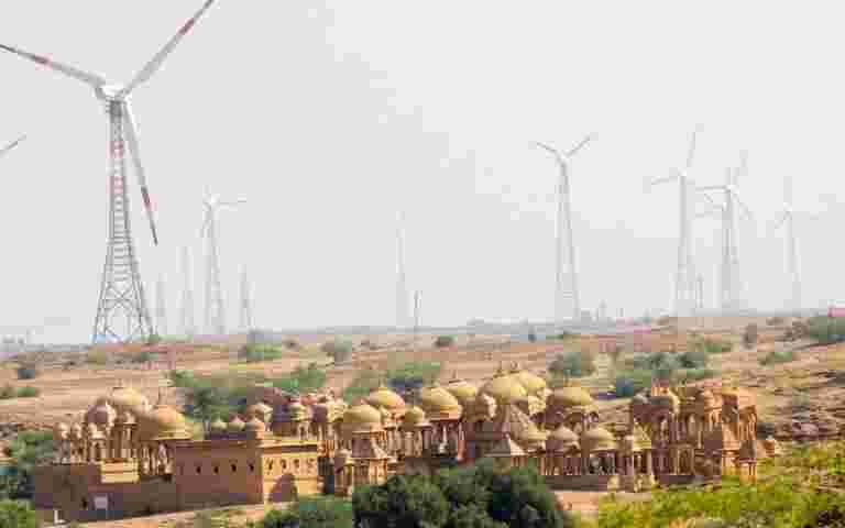Inox风开始在Gujarat的风电项目的第1阶段执行