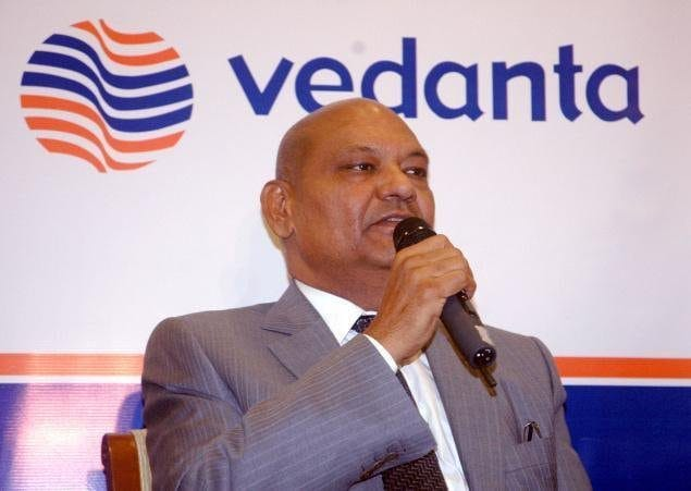 Vedanta的Anil Agarwal表示开放给Cairn India Stake Sale