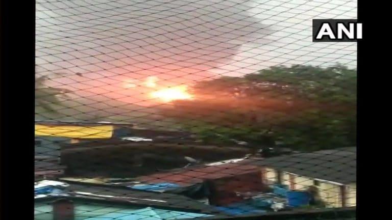 在Ongc的铀厂爆发了巨大的火灾,四人被杀