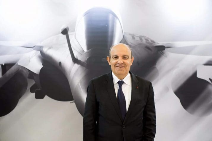 Dissault Aviation的ÉricJroppier说,思想依赖辩护是最能提供我们想要的东西的人