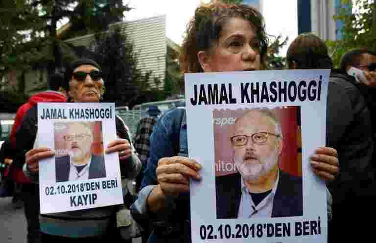 """英国,法国,德国呼吁""""可靠的调查""""进入Khashoggi失踪"""