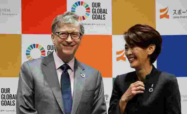 奥运会:比尔盖茨与东京2020联系起来以解决发展目标