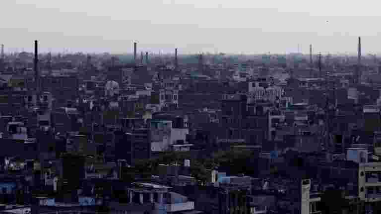 """德里空气质量改善了排灯节的""""贫困"""""""