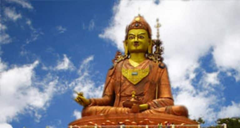 最高的Chenrezig雕像在周三的威斯基金斯