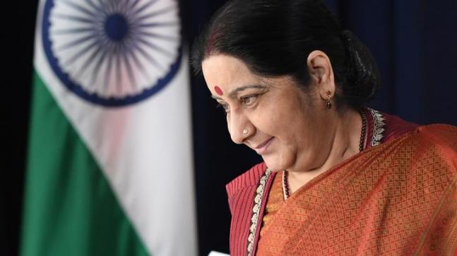 Sushma Swaraj在关键的双边,区域问题上举行与伊朗同行的会谈